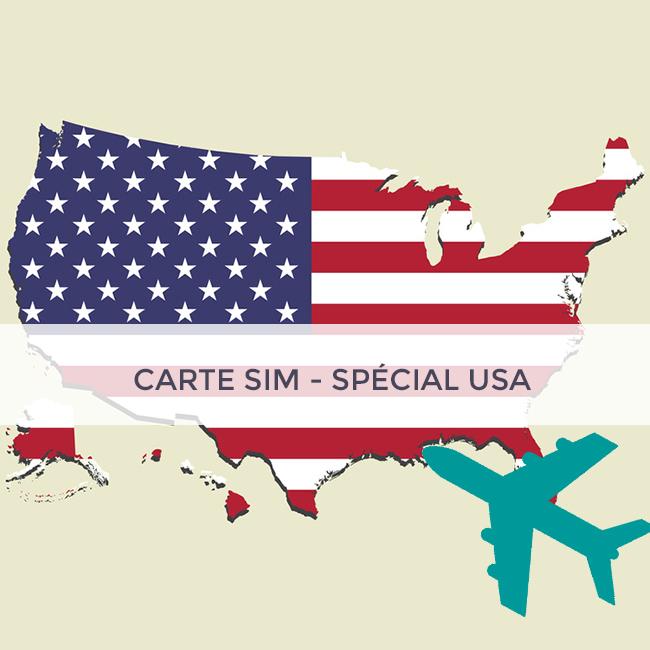 CARTE SIM SPÉCIALE USA