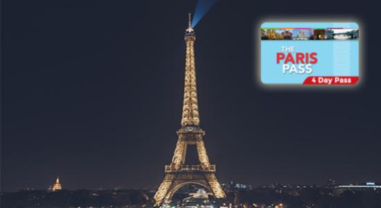 36€ de réduction sur votre Paris Pass de 4 jours