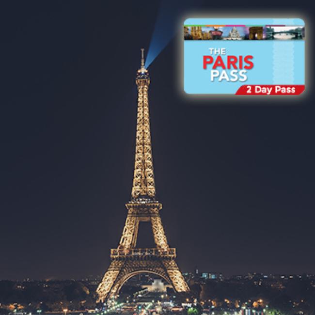 PARIS PASS 2,4 ou 6 JOURS