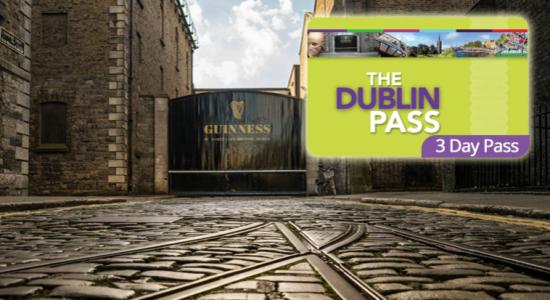 19€ de réduction sur votre Dublin Pass de 3 jours