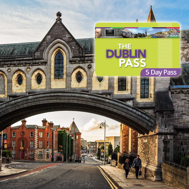 The Dublin Pass 1,2,3 et 5 jours