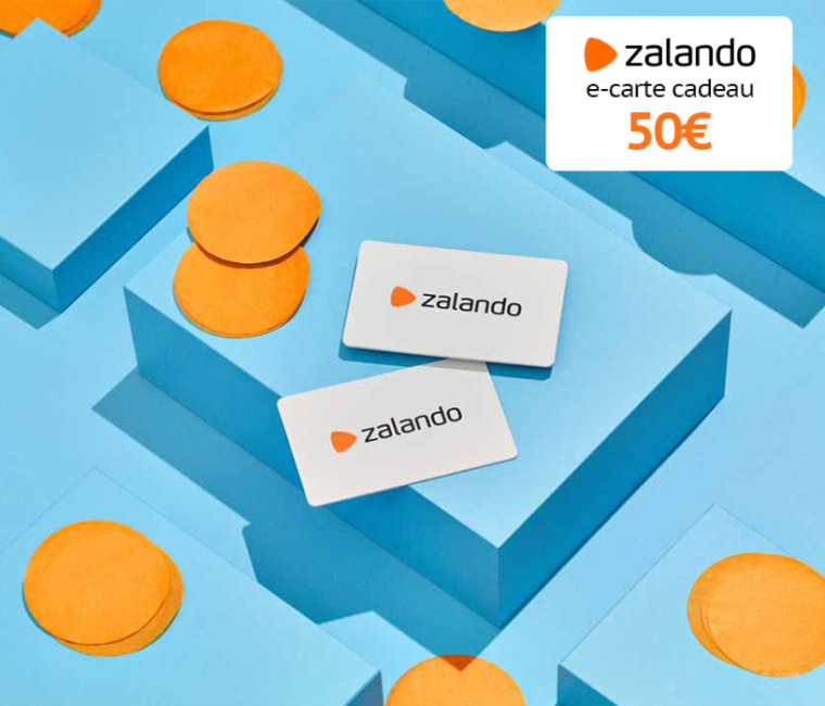 10% de réduction sur les e-cartes cadeaux ZALANDO de 50€