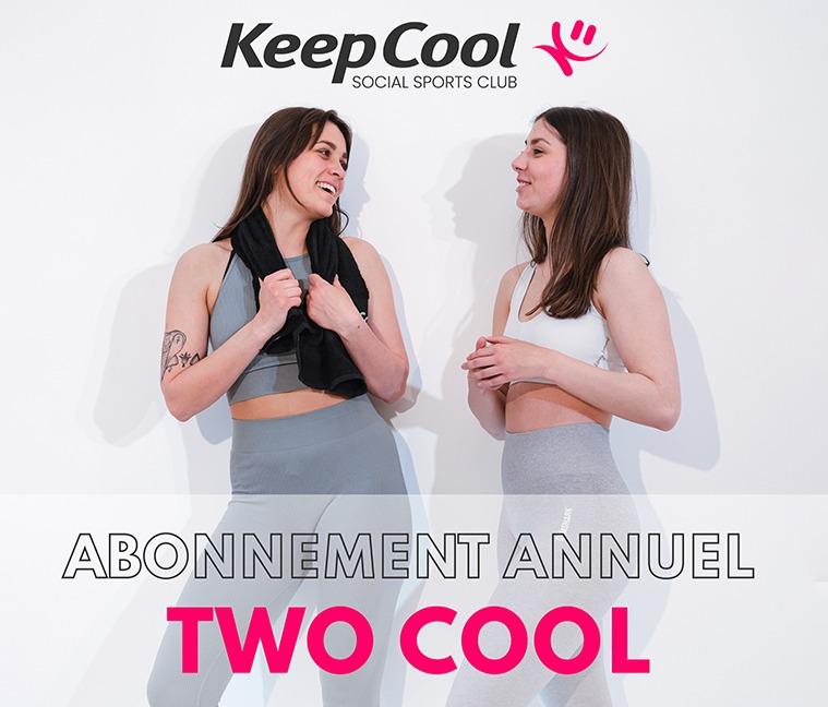 Jusqu'à 40% de réduction sur l'abonnement annuel Two Cool