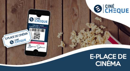 7€ la e-place de cinéma valable partout en France