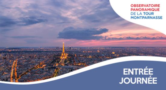 13€ au lieu de 15€ l'entrée à la Tour Montparnasse