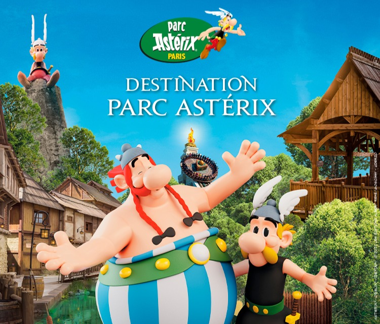 32% de réduction sur l'entrée au Parc Astérix
