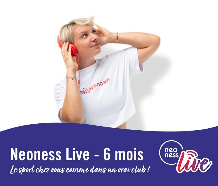 Réduction Neoness Live : le sport de chez vous pendant 6 mois à seulement 69€