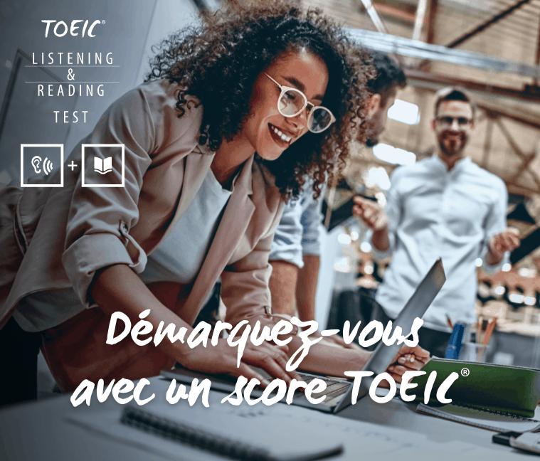 Bon plan ISIC: 17€ de réduction sur le TOEIC Listening & Reading Programme Public