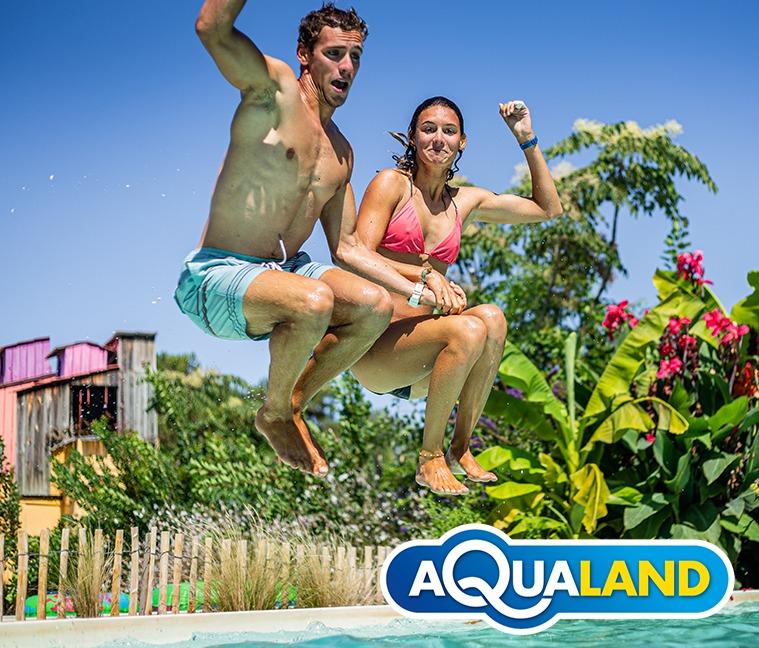 Entrée journée à Aqualand à 23€ au lieu de 28€