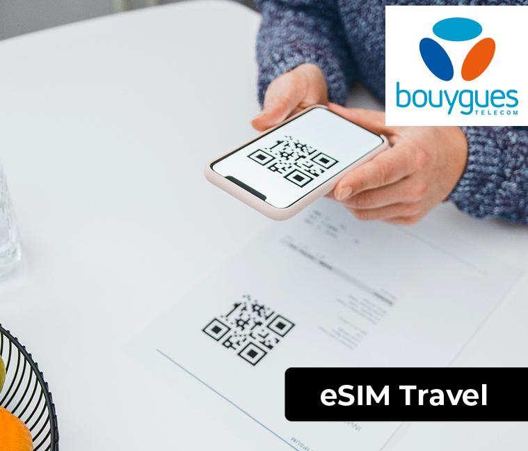 La eSIM Travel pour 34€ au lieu de 39,90€
