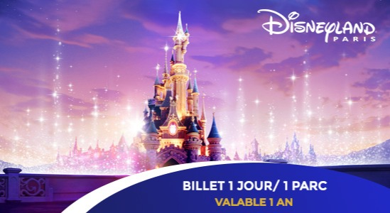 67€ au lieu de 89€ le billet  Super Magic 1 jour /  1 parc
