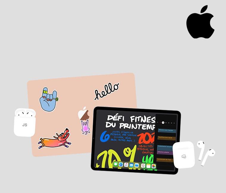 Jusqu'à 10% de réduction sur les Mac et iPad + AirPods offerts