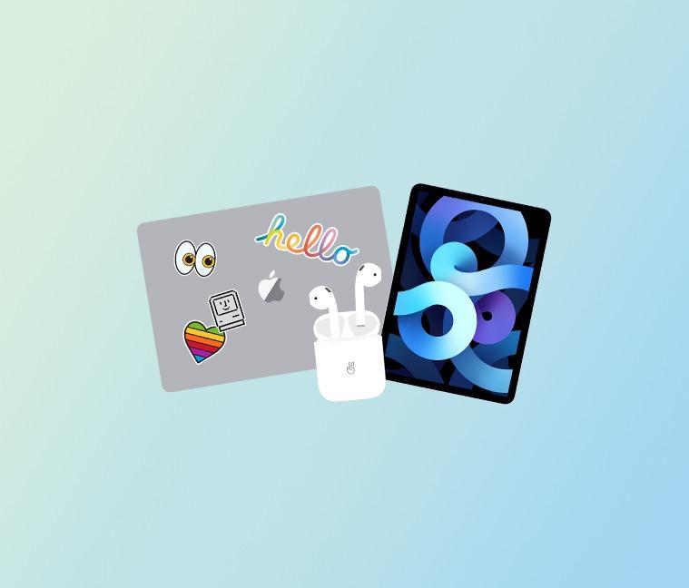 Achetez un Mac ou un iPad pour vos études. Recevez des Airpods en cadeau !
