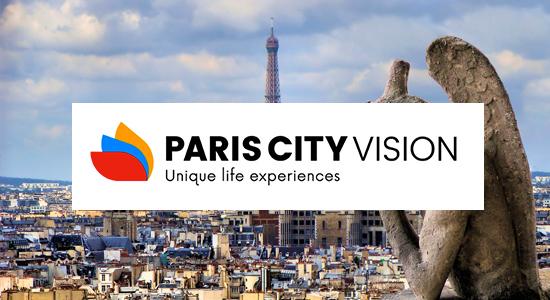 Jusqu'à 10% de réduction sur les excursions Pariscityvision