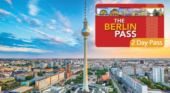 13€ de réduction sur votre Berlin Pass de 2 jours (transport non inclus)